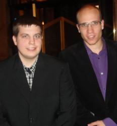 Christian Pticek (1) und Daniel Hildebrand (2)