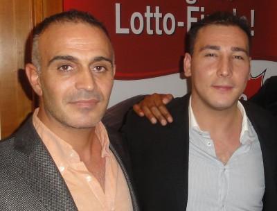 Emrullah Turanoglu (3) und Muharrem Gürlü (1)