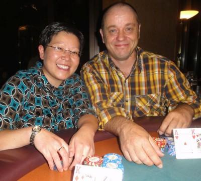 Shuen Gao (2) und Michael Dürk (1)