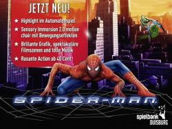 Spider-Man contra Green Goblin: das neue Automaten-Abenteuer in der Spielbank Duisburg. (Foto: wms)