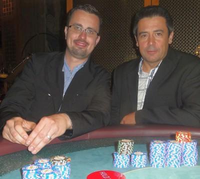 Michael Ende (4) und Antonio Armindo (2)