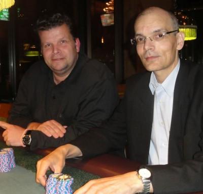 Jan Mannsfeld (1) und Frank H. (4)