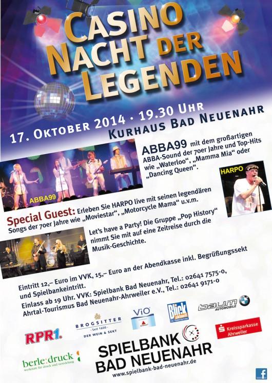 Casino Nacht Der Legenden Bad Neuenahr