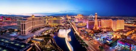 Ob Flaniermeile oder Marathonstrecke – Der Las Vegas Strip ist immer einen Besuch wert. (Foto: Las Vegas News Bureau / Scott Frances)