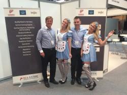 Gunter Fricke, Geschäftsführer der insic GmbH (l.) und Thees Buschmann, Assistent der Geschäftsführung.
