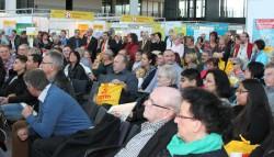Rund 2.000 Lotto-Vertriebspartner waren am Sonntag zu Gast in Karlsruhe.