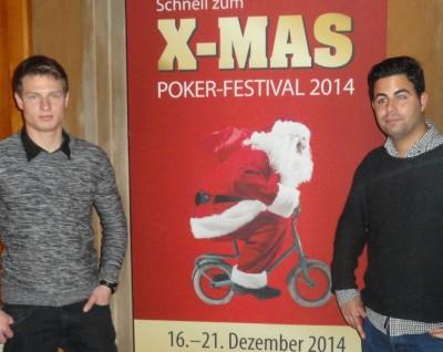 Luka Vidak (1) und Houari Soler (4)
