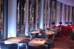 Das Restaurant inside in der Spielbank Duisburg.