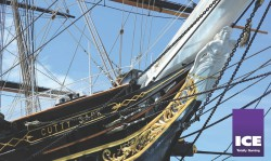 The UK's famous Cutty Sark, located in Greenwich, London.