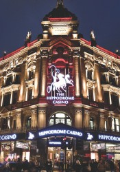 London's Hippodrome Casino, the venue for the International Casino Conference.