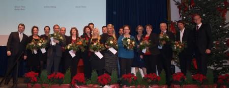 Die Jubilare der Schmidt Gruppe.