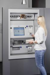 Die HESS-Kassenautomaten sind bei Kommunen, Bibliotheken und Energieversorgern stark gefragt.