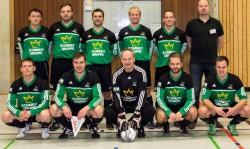 Die gastgebende Mannschaft: die Altherren der SG Coesfeld 06