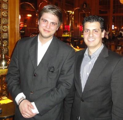 Tobias Seitz (1) und Stefano Carlino (4)