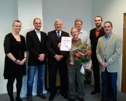 Birgit Pitzius, Thomas Wendt, Wolram Seiffert, Jürgen Mentzel, Klaus Holuscha, Frank Kleinert und Peter Löffler.