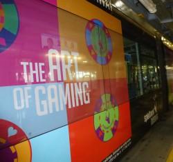The Art of Gaming – Imagewerbung der Spielbank Duisburg in Düsseldorf (Foto: WestSpiel)