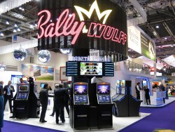 Bally Wulff Messestand auf der ICE 2015.