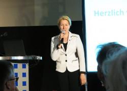 Bezirksbürgermeisterin Frau Dr. Giffey
