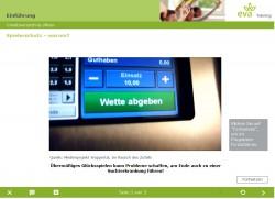 Das Lernmodul der eva qualifiziert umfassend für das Thema Spielerschutz und Prävention. (Foto: Lotto Baden-Württemberg)