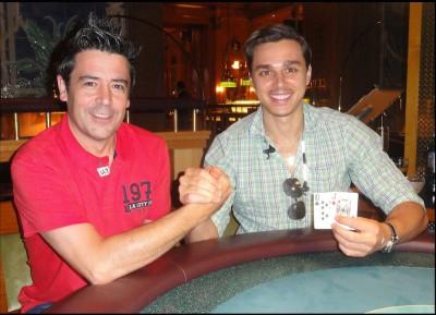 Der zweitplatzierte Antonio Armindo und der erstplatzierte G.