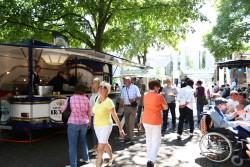 Wie beim Jubiläumswochenende Ende Juni können sich Besucher auf Super-Stimmung  auf der Hohensyburg freuen – erst bei der Sommernachtsparty am 18. Juli und einen Tag darauf beim traditionellen Oldtimertreffen. (Foto: Fotocruz)