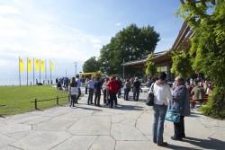 Der Lotto-Partnertag fand im Friedrichshafener Graf-Zeppelin-Haus statt, das direkt am Bodensee liegt.