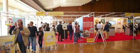 Die Vertriebspartner von Lotto Baden-Württemberg konnten sich an 30 Messeständen ausgiebig informieren.