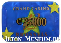 Plaque des Grand Casino Brüssel (Belgien)