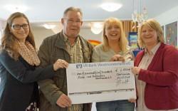 2.500 Euro spendete die Unternehmensgruppe für den Kinder- und Kulturkreis Oberhausen e.V..