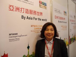 Marina Wong, Events Director and General Manager at Macao Gaming Show
