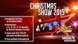 Christmas-Show 2015 in der Spielbank Hohensyburg – ein Fest für alle Sinne. (Foto: Stars in Concert)