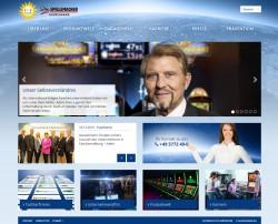 Die neue Homepage der Gauselmann Gruppe vereint modernes Design mit intuitiver Bedienbarkeit und spannendem Content.