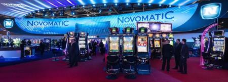 Novomatic Stand auf der ICE 2015