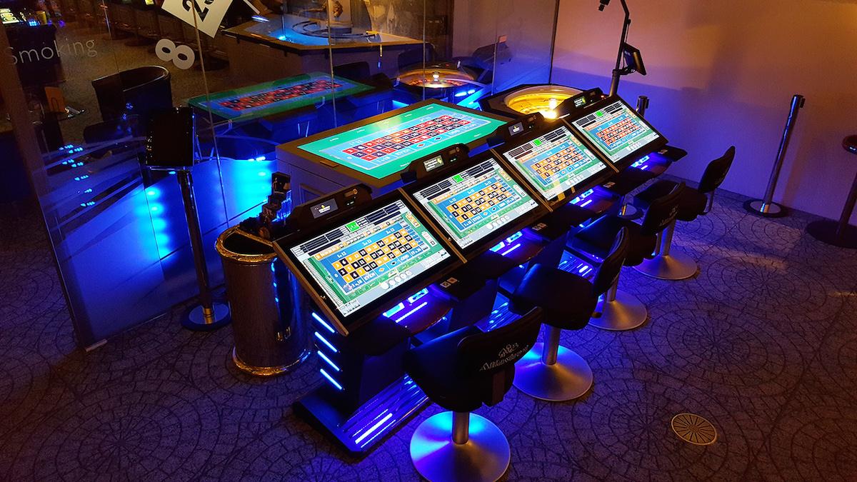 multi roulette anlage