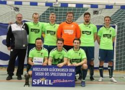Die Siegermannschaft des SV Falke Steinfeld.
