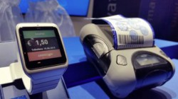 Smartwatch and printer