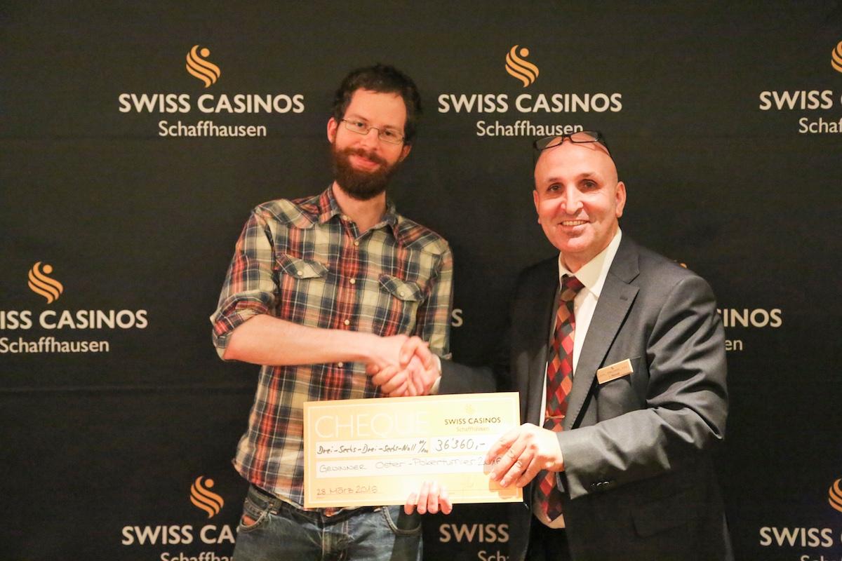 casino schaffhausen poker