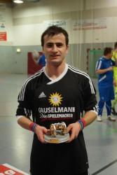 Torschützenkönig 2016: Watschagan Harutjunjan mit insgesamt neun Treffern.