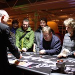 Black Jack in der Casino-Lounge.