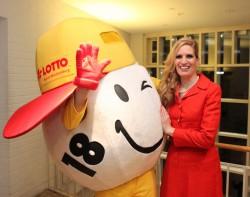 Lotto-Maskottchen Winnie