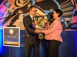 Bildquelle Olaf Striegan: Frau Claudia Degenhard, Leiterin der Merkur Spielbank in Magdeburg.