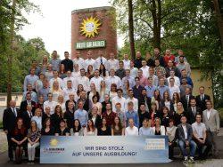 86 Auszubildende starteten am 1. August 2016 ihre Ausbildung bei der Gauselmann Gruppe.
