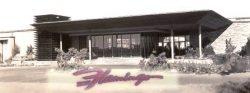Eingangsbereich des Flamingo Hotel & Casino 1947. (Bild: Kstadelman / CC BY-SA 3.0)