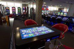 Fun4Four-Spieltisch in der Spielbank Cottbus. (Foto BSB/Stefan Gloede)