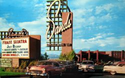 Das Sands Hotel and Casino 1959.