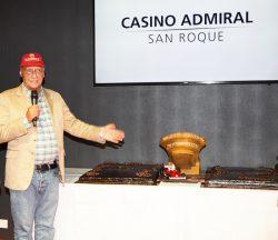 Novomatic-Markenbotschafter Niki Lauda bei der Eröffnungsfeier. (Foto: pedrojaen.com)