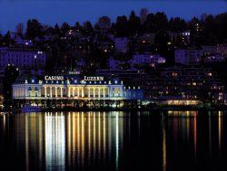 Das Grand Casino Luzern in der Aussenansicht. Innen präsentiert sich das Haus im Spielbereich ab dem 9. September 2016 in neuem Glanz.