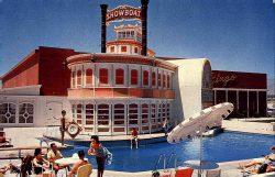 Fassade des ursprünglichen Show Boat Casinos im Jahr 1961. (Foto: Ferris H. Scott)