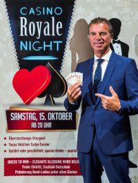 Die Spielbank Duisburg lädt zur großen Casino Royale Night. Direktor Jochen Braun freut sich auf ein volles Haus im Oktober. (Foto: Sebastian Drüen/WestSpiel)