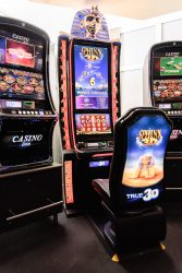 3-D-Automaten in der Spielbank Cottbus. (Foto: BSB)